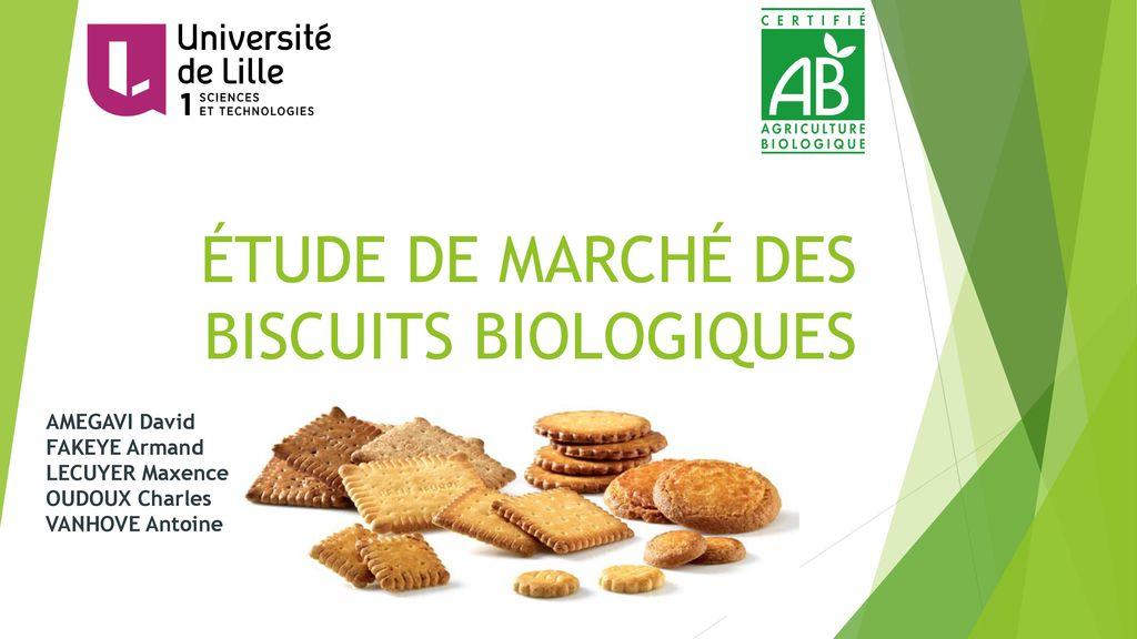 Étude de marchÉ des biscuits biologiques - ppt télécharger