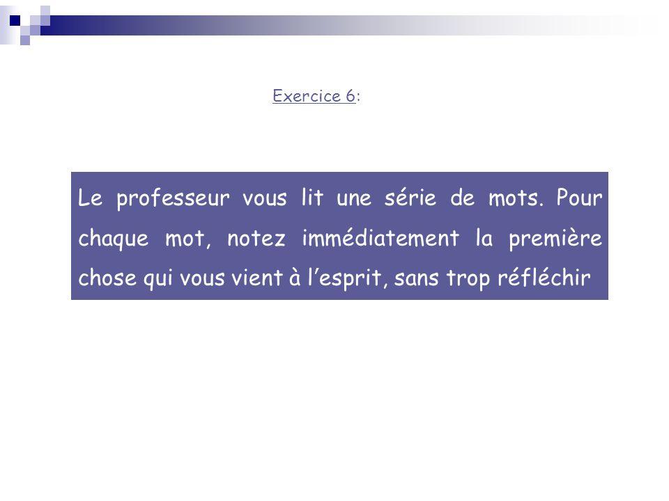 Exercice 6: