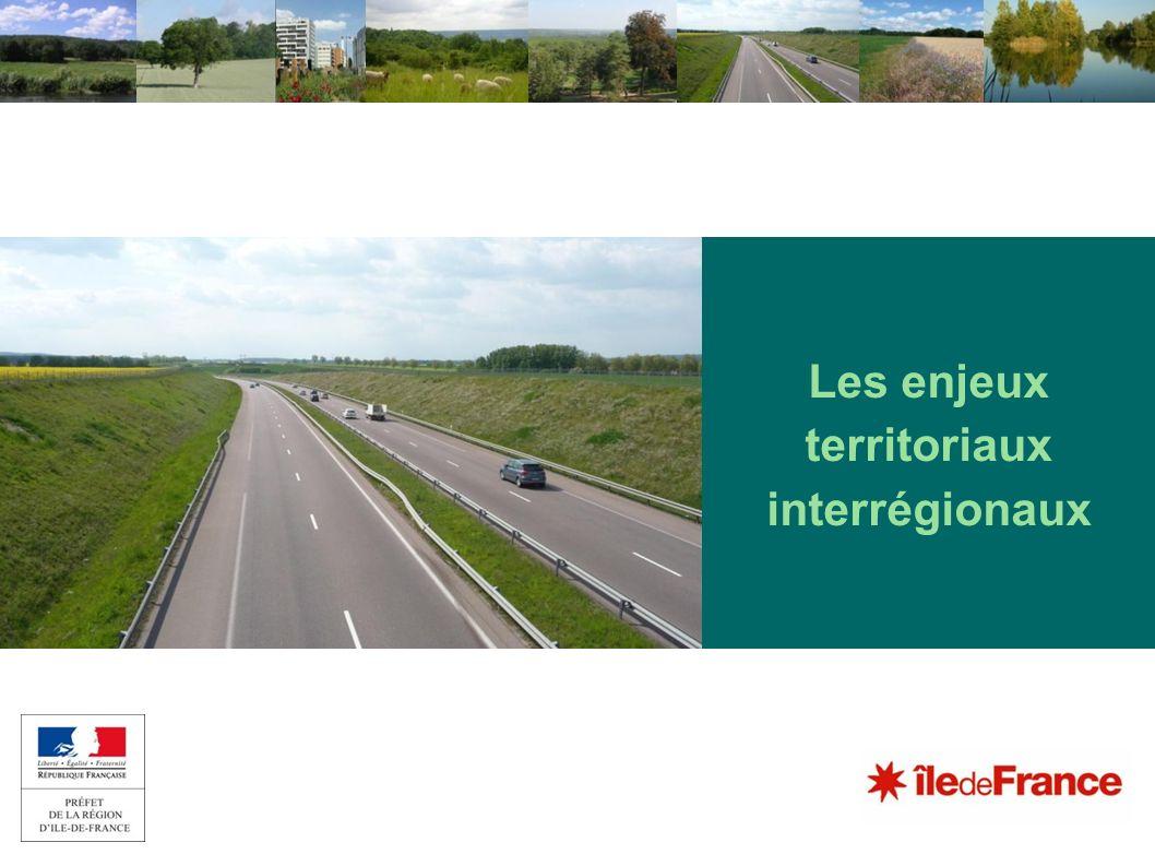 Les enjeux territoriaux interrégionaux