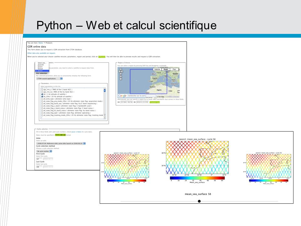 Python – Web et calcul scientifique