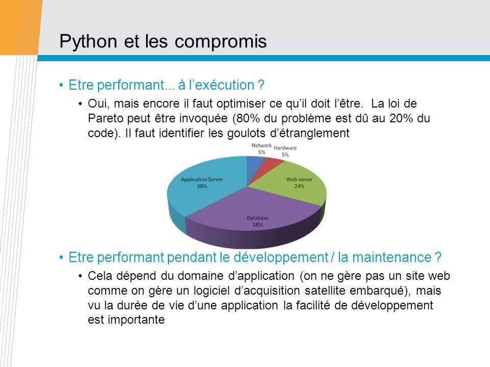 Python et les compromis