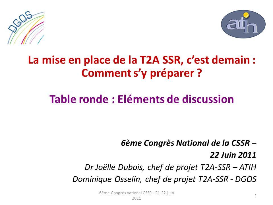 6ème Congrès national CSSR - 21-22 juin 2011