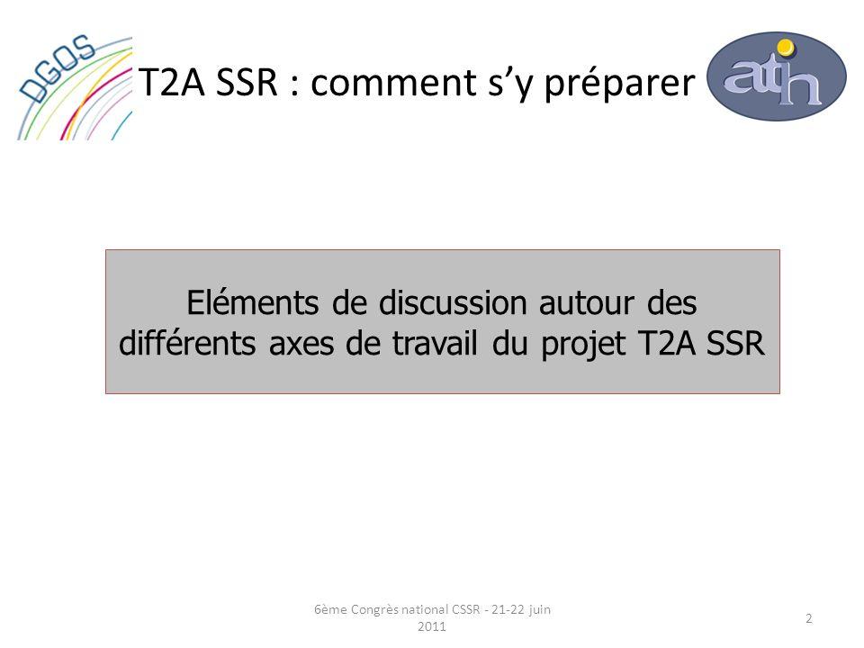T2A SSR : comment s'y préparer
