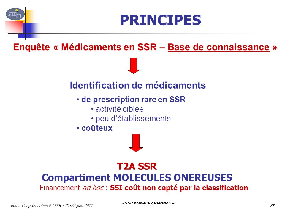 Identification de médicaments Compartiment MOLECULES ONEREUSES