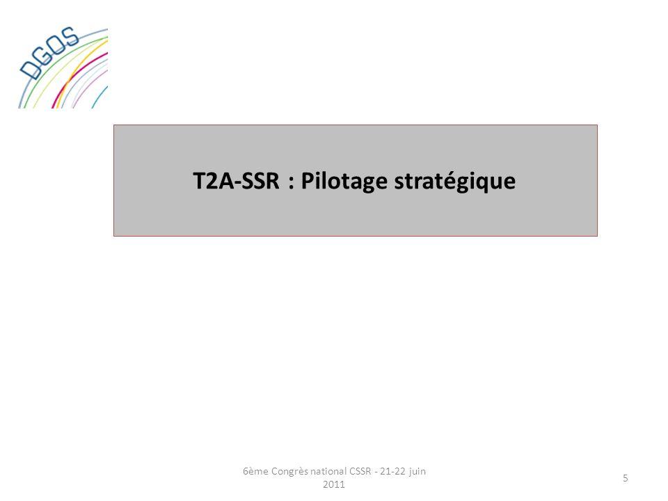 T2A-SSR : Pilotage stratégique
