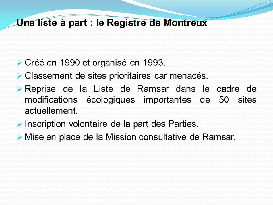 Une liste à part : le Registre de Montreux