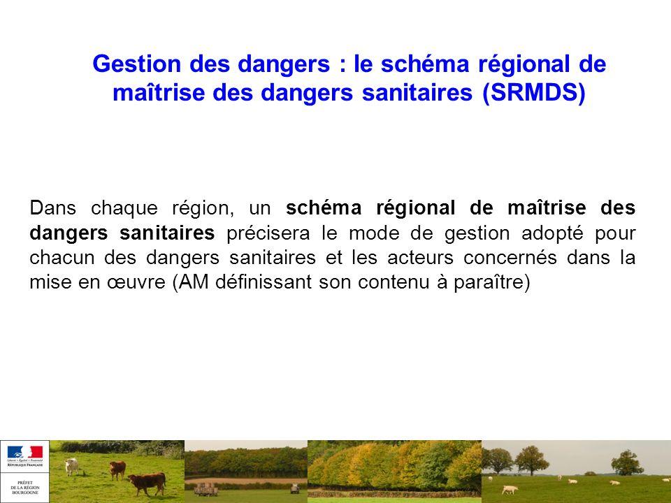 Gestion des dangers : le schéma régional de maîtrise des dangers sanitaires (SRMDS)