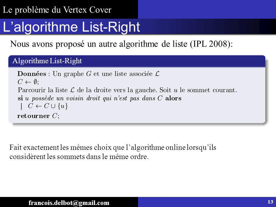 L'algorithme List-Right