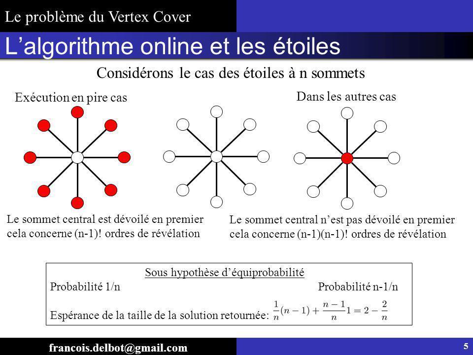 L'algorithme online et les étoiles