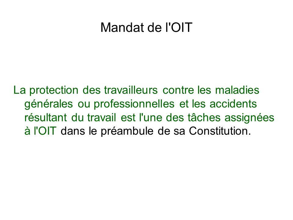 Mandat de l OIT