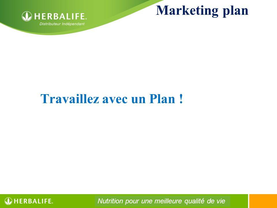 Travaillez avec un Plan !
