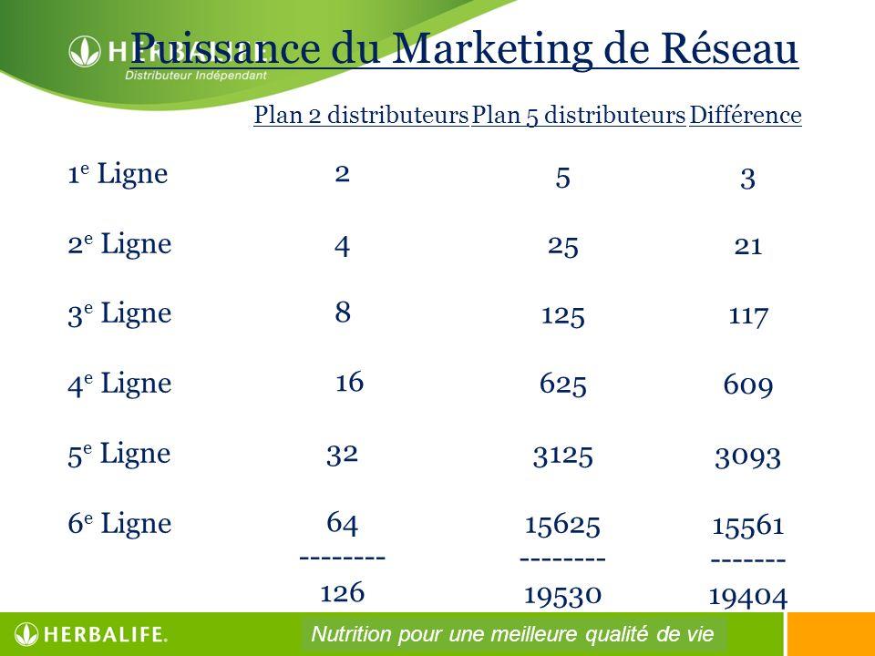 Puissance du Marketing de Réseau