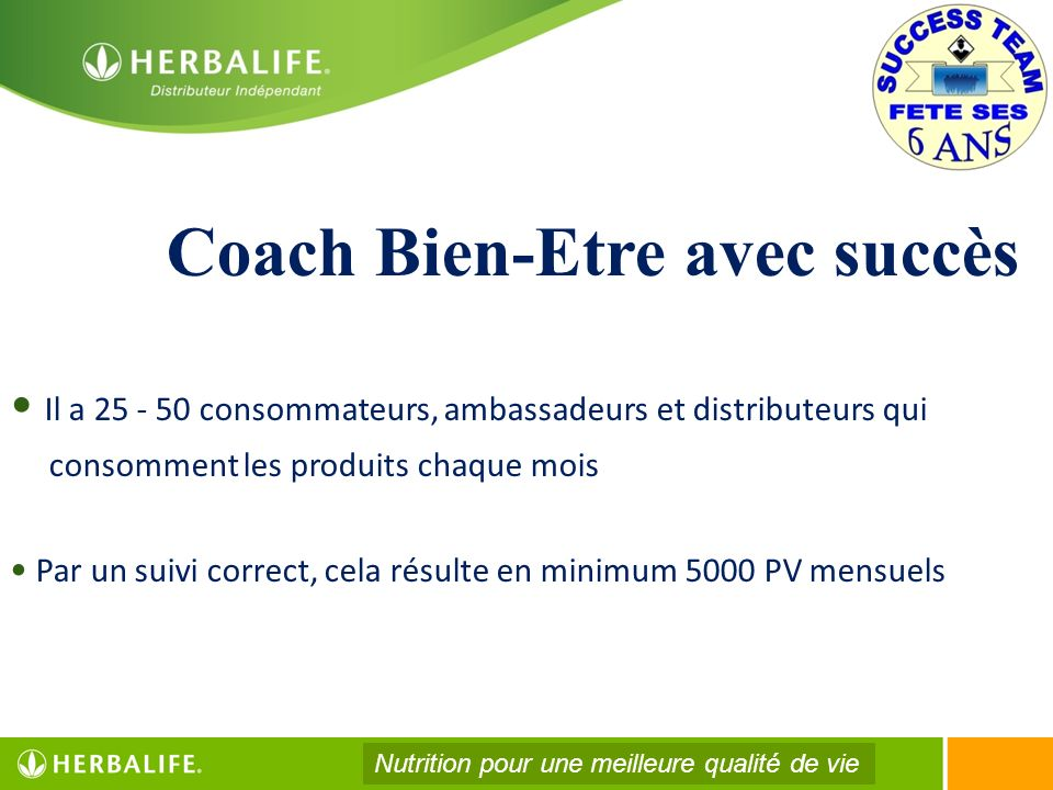 Coach Bien-Etre avec succès