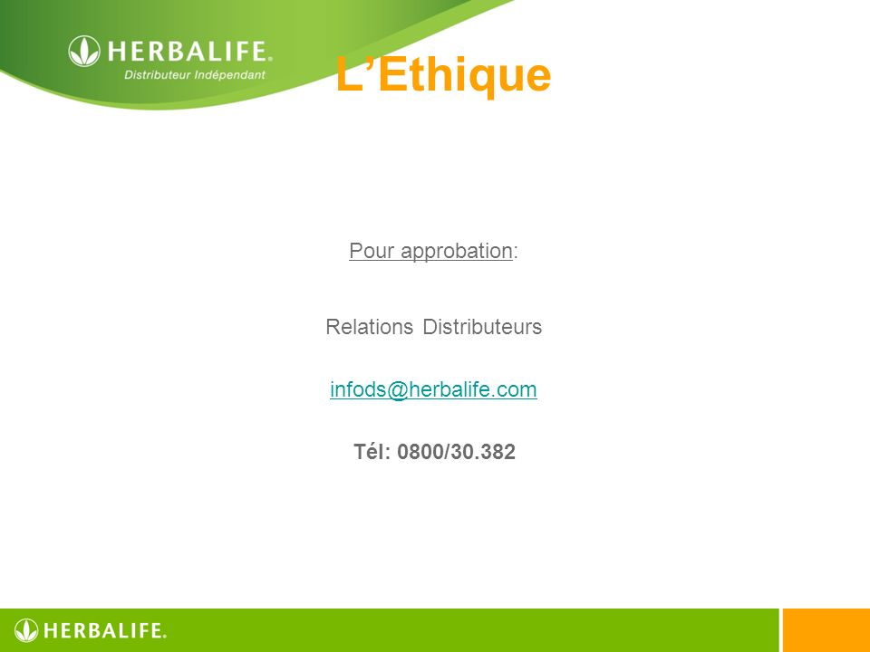 Relations Distributeurs