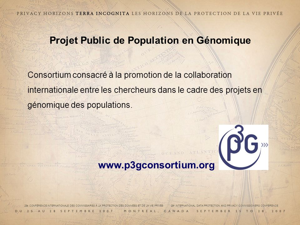 Projet Public de Population en Génomique