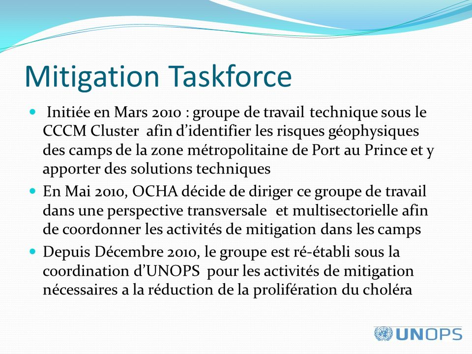 Mitigation Taskforce