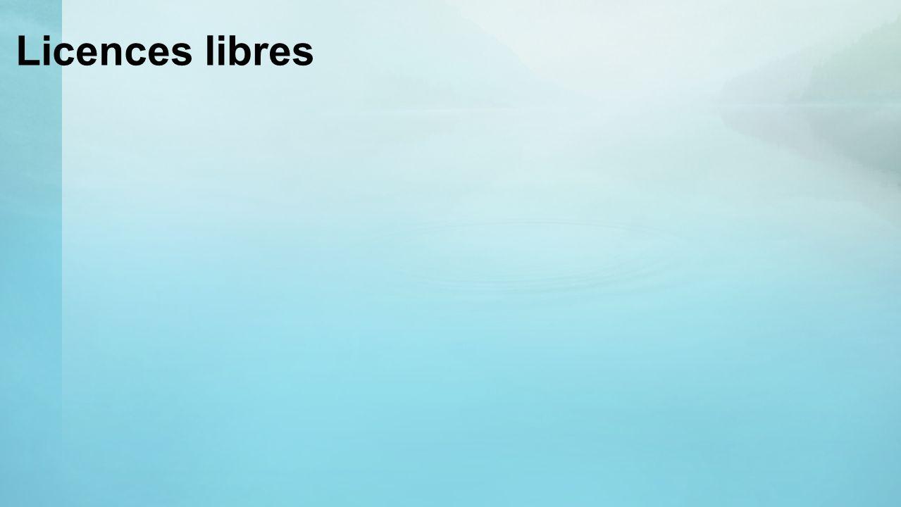 Licences libres