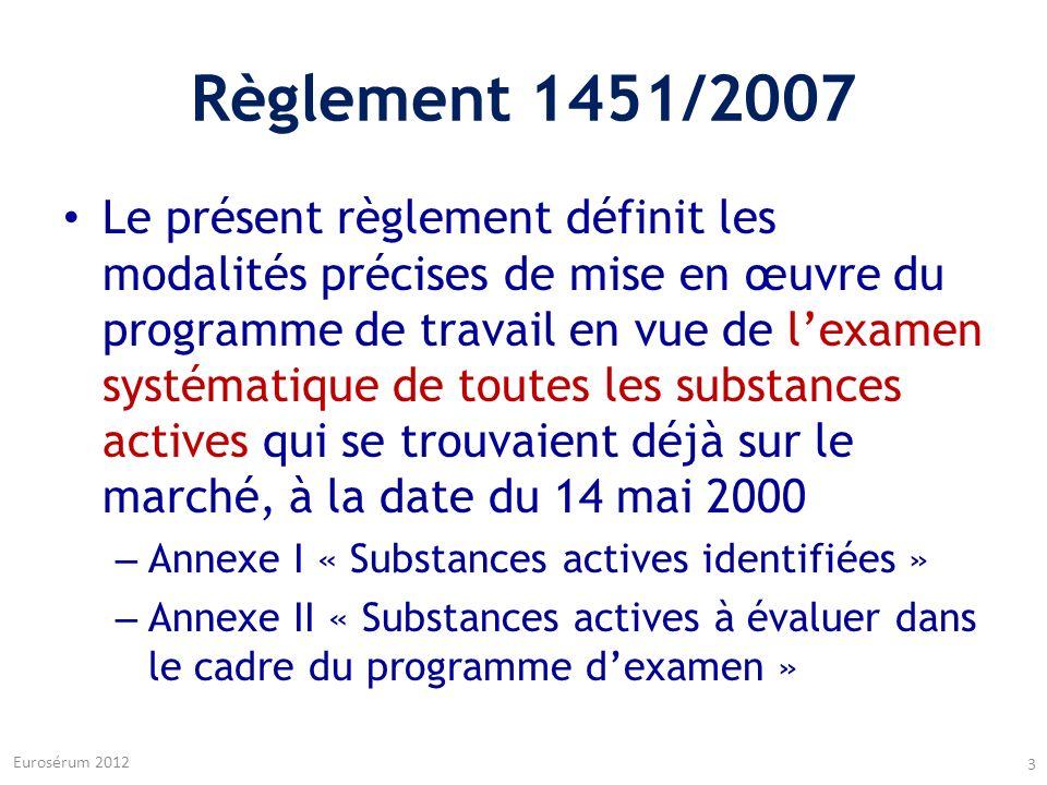 Règlement 1451/2007