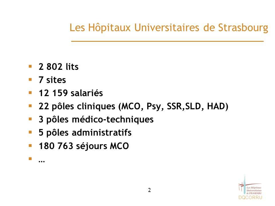 Les Hôpitaux Universitaires de Strasbourg