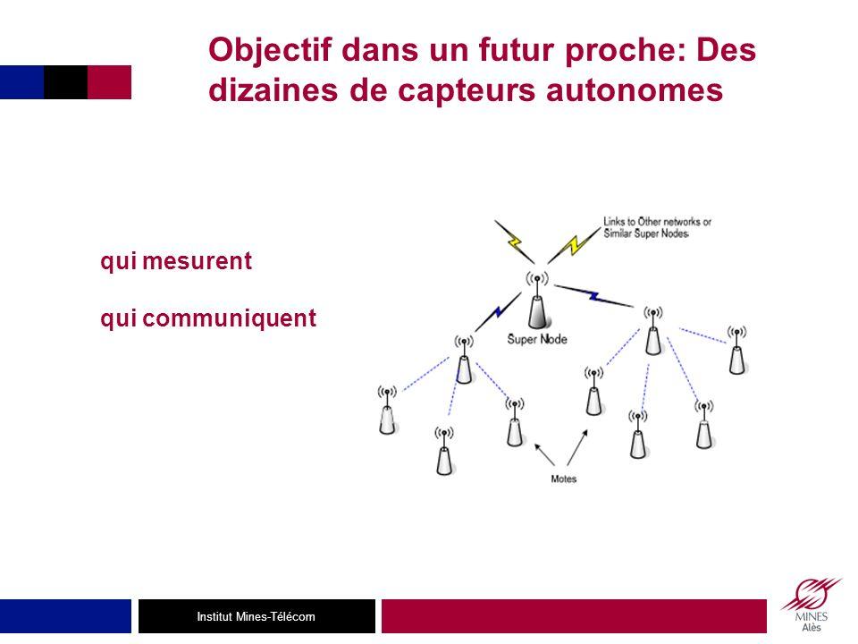 Objectif dans un futur proche: Des dizaines de capteurs autonomes