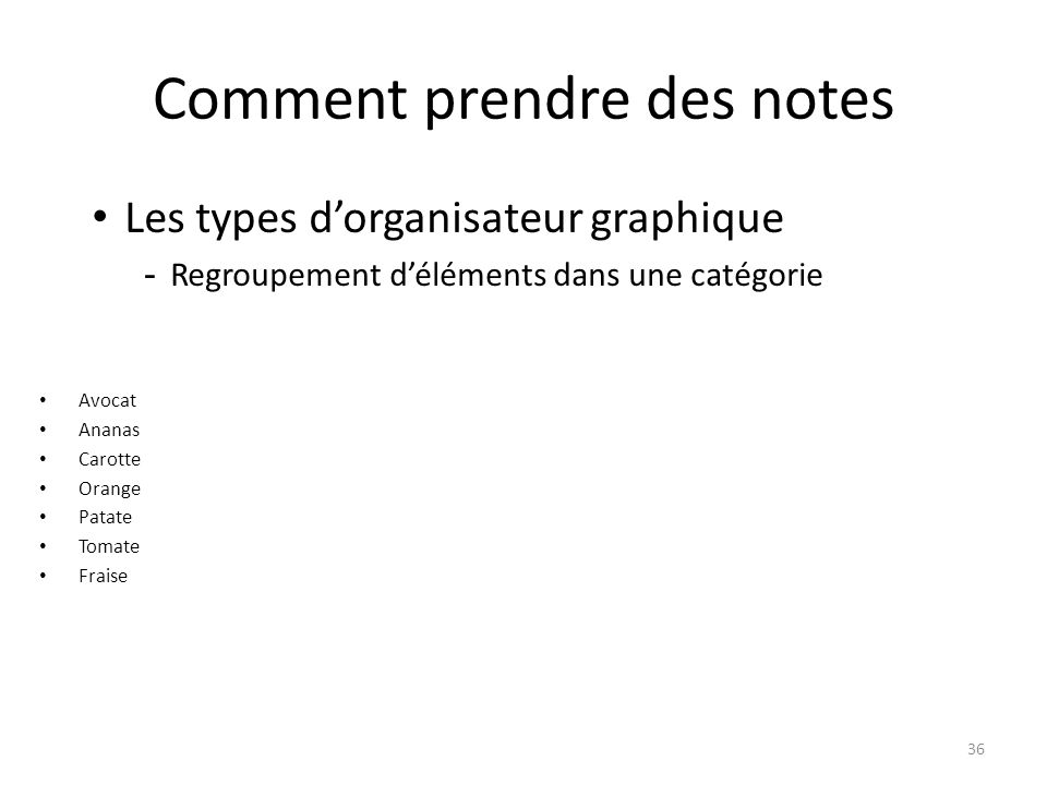Comment prendre des notes