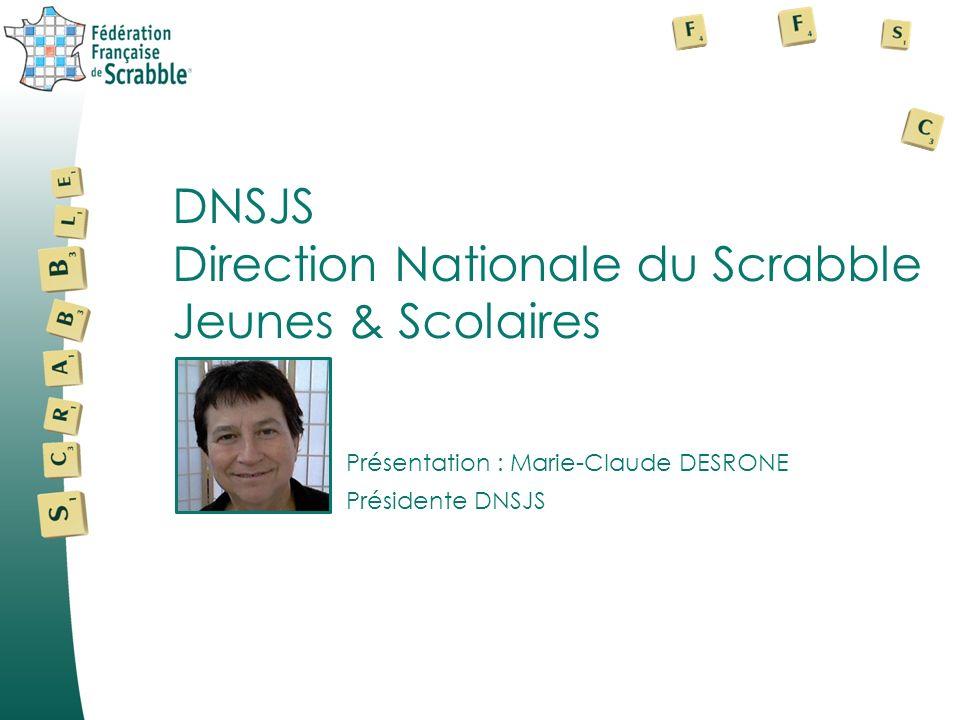 Direction Nationale du Scrabble Jeunes & Scolaires