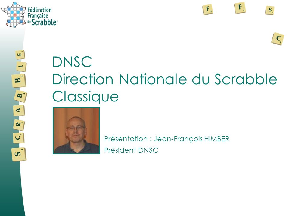 Direction Nationale du Scrabble Classique