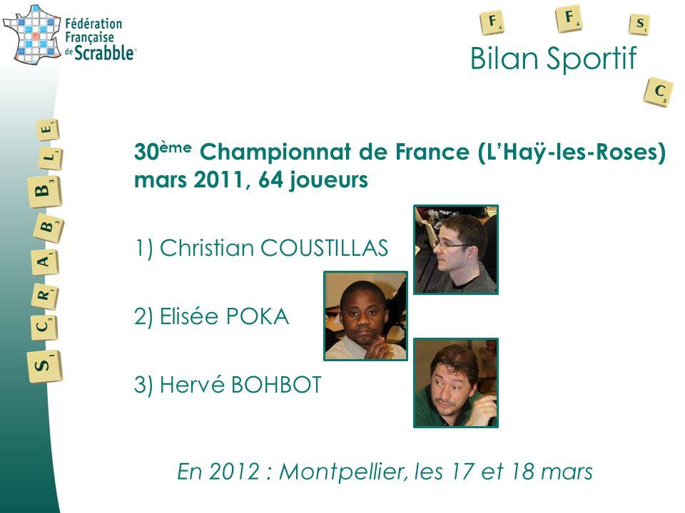 En 2012 : Montpellier, les 17 et 18 mars