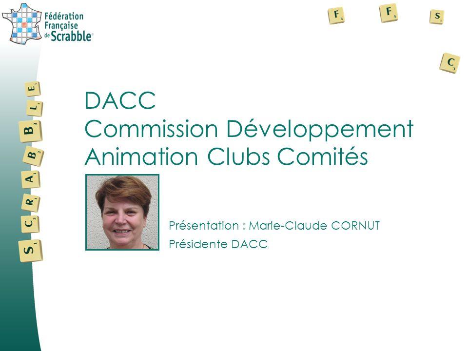 Commission Développement Animation Clubs Comités