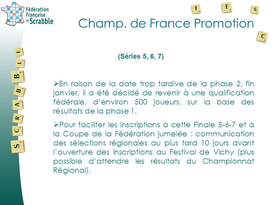 Champ. de France Promotion