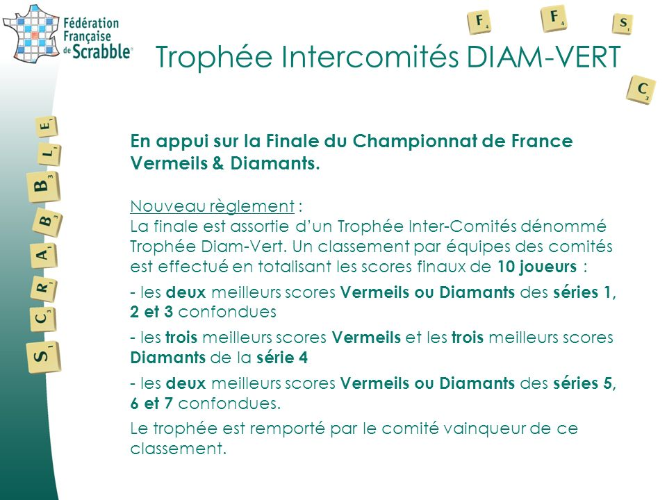 Trophée Intercomités DIAM-VERT
