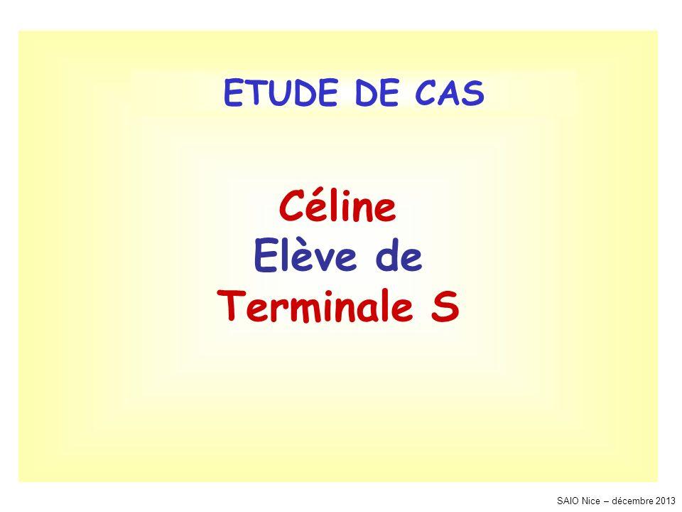 Céline Elève de Terminale S