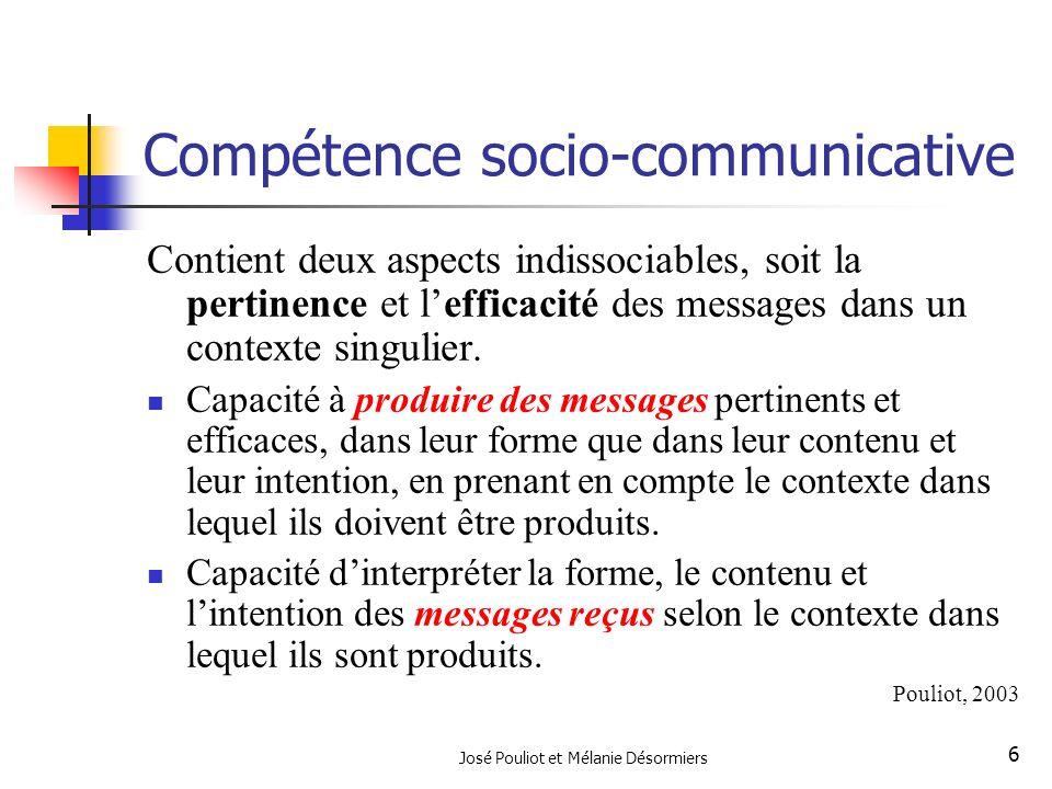Compétence socio-communicative