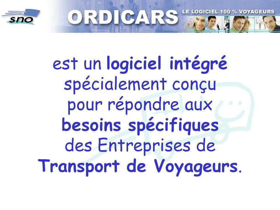 est un logiciel intégré spécialement conçu pour répondre aux besoins spécifiques des Entreprises de Transport de Voyageurs.