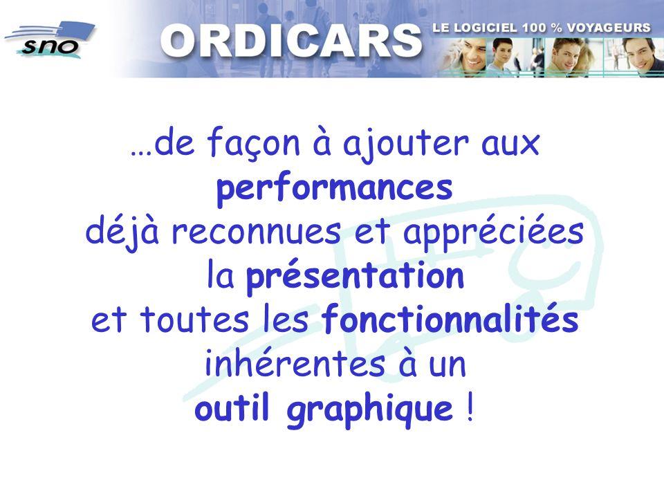 …de façon à ajouter aux performances déjà reconnues et appréciées la présentation et toutes les fonctionnalités inhérentes à un outil graphique !