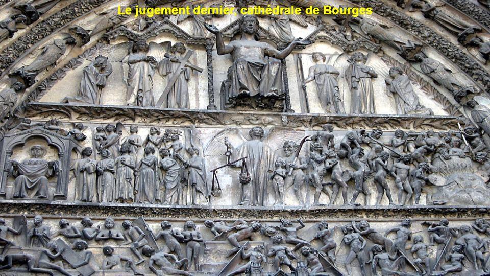 Le jugement dernier, cathédrale de Bourges