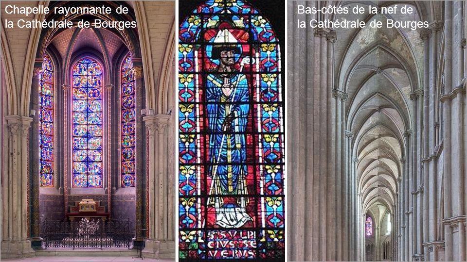 Chapelle rayonnante de la Cathédrale de Bourges