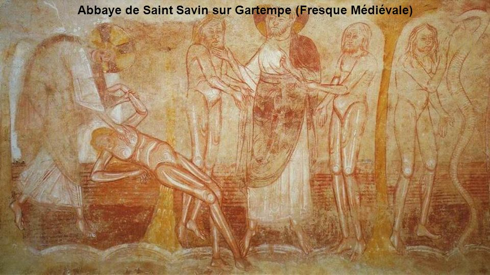 Abbaye de Saint Savin sur Gartempe (Fresque Médiévale)
