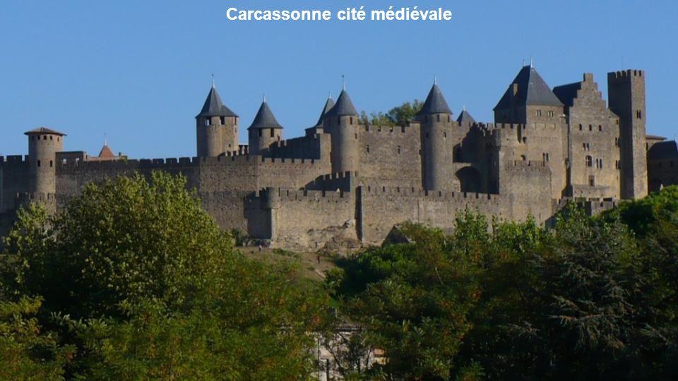 Carcassonne cité médiévale