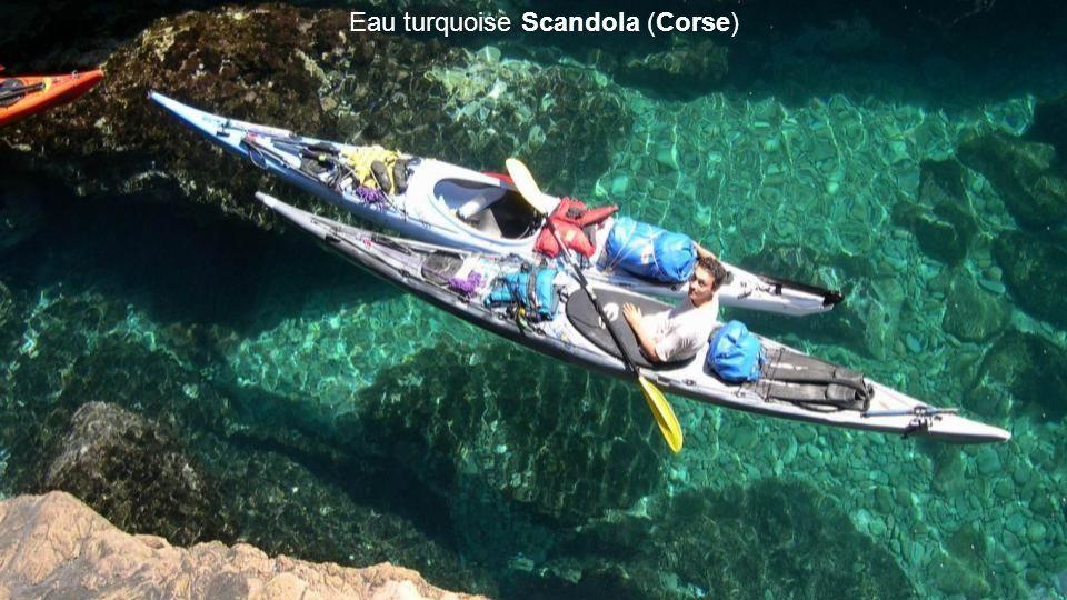 Eau turquoise Scandola (Corse)