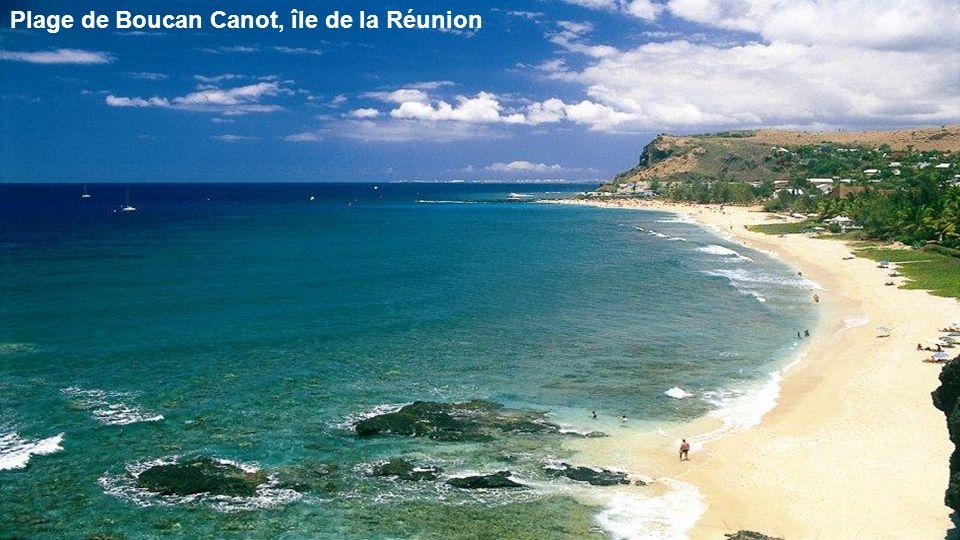 Plage de Boucan Canot, île de la Réunion