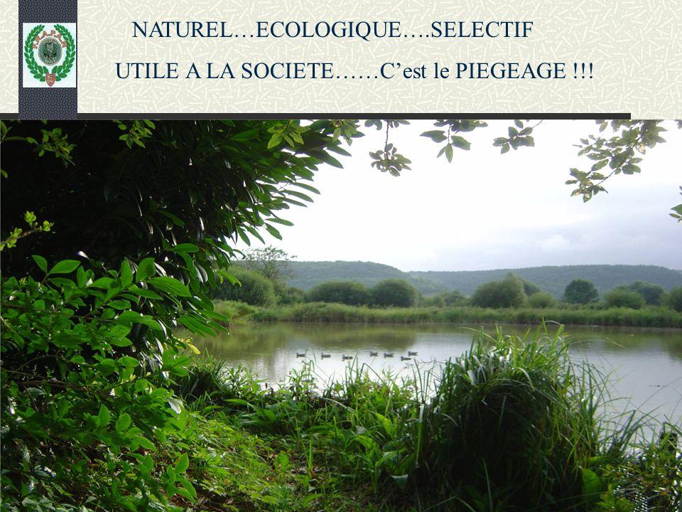 NATUREL…ECOLOGIQUE….SELECTIF