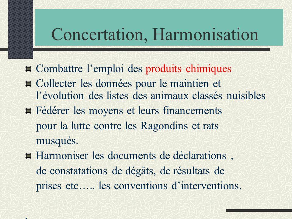 Concertation, Harmonisation