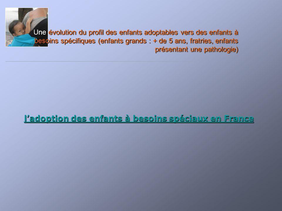 l'adoption des enfants à besoins spéciaux en France