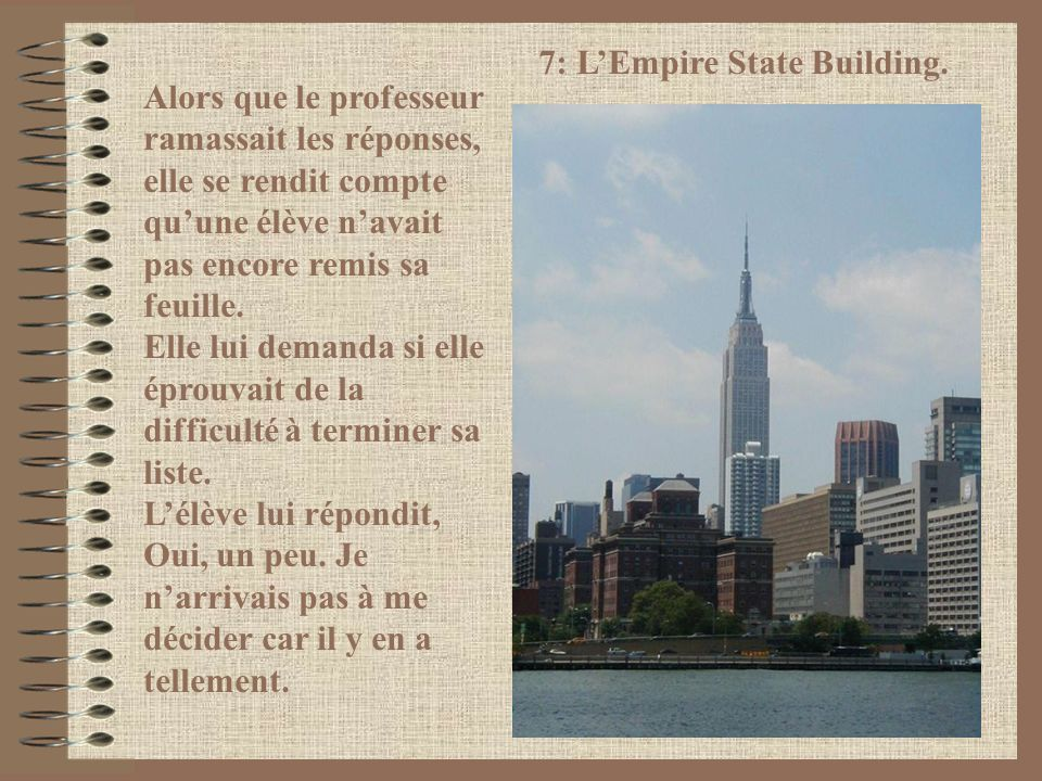 7: L'Empire State Building.