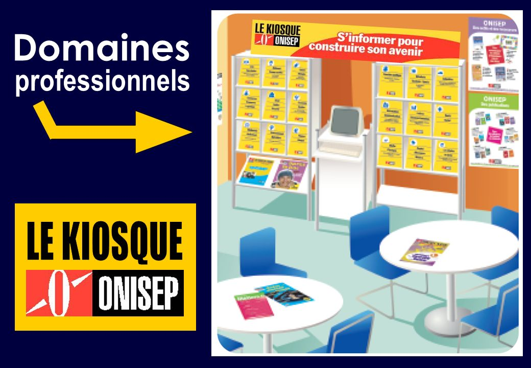 Domaines professionnels LE KIOSQUE