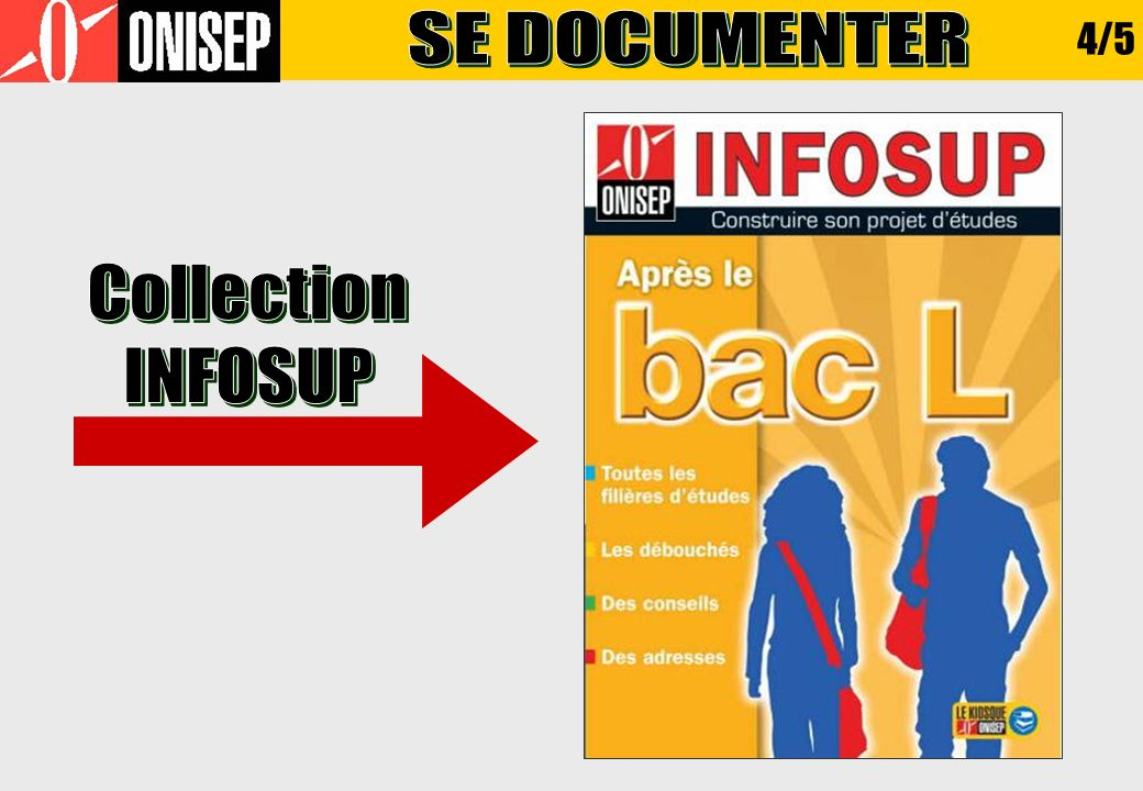 SE DOCUMENTER 4/5 Collection INFOSUP