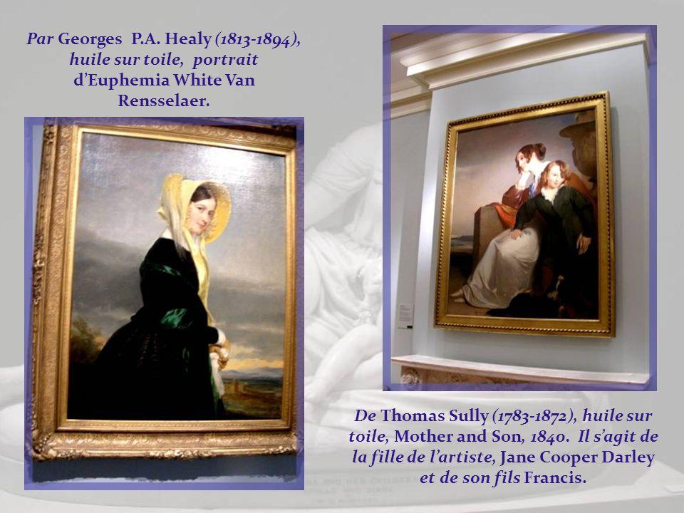 Par Georges P.A. Healy (1813-1894), huile sur toile, portrait d'Euphemia White Van Rensselaer.