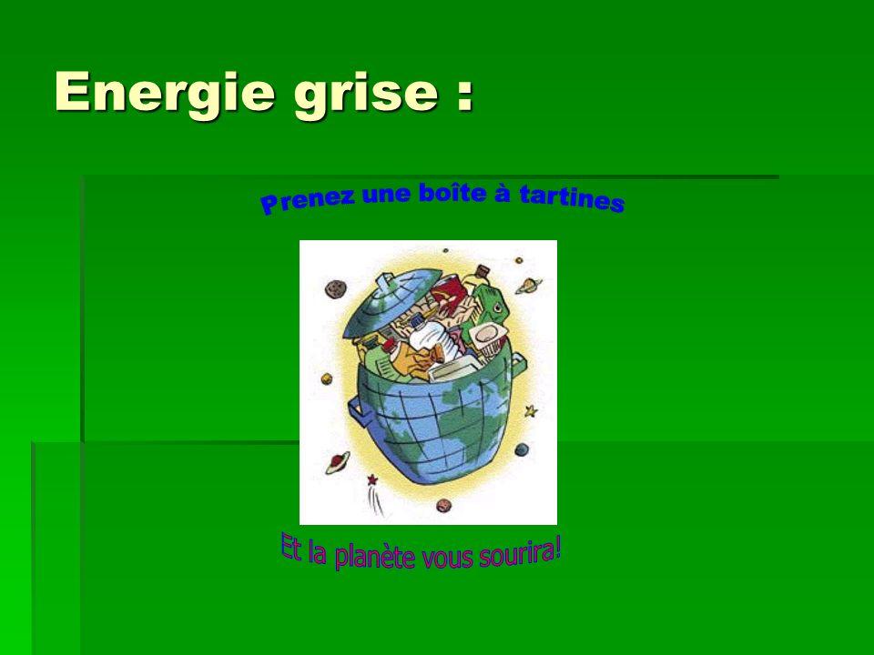 Energie grise : Prenez une boîte à tartines