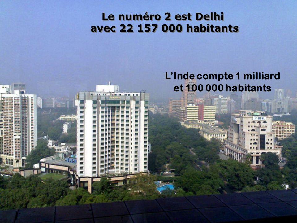 L'Inde compte 1 milliard
